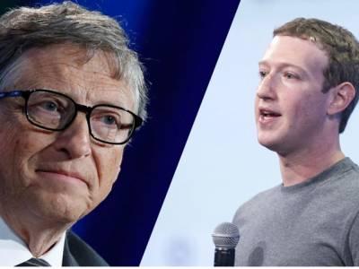 دنیا کے ارب پتی افراد کی فہرست جاری ، بل گیٹس پہلے اور مارک زکر برگ دنیا کے پانچویں امیر ترین آدمی بن گئے