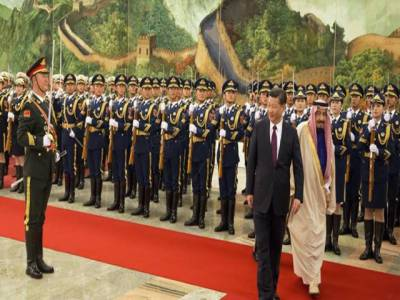 چین اور سعودی عرب کے مابین 65 بلین ڈالرز کے 14 معاہدے طے پا گئے