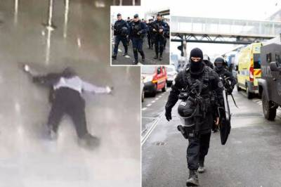 پیرس کے اورلی ہوائی اڈے پر حملہ آور کے خون کے نمونے میں شراب اور منشیات تھیں:حکام