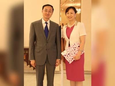 اقتصادی راہداری کا مقصد عوام کی فلاح ہے:اہلیہ چینی سفیر