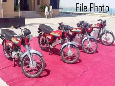 پاکستان میں پہلی بار الیکٹرک موٹرسائیکل کی تیاری شروع ہوگئی