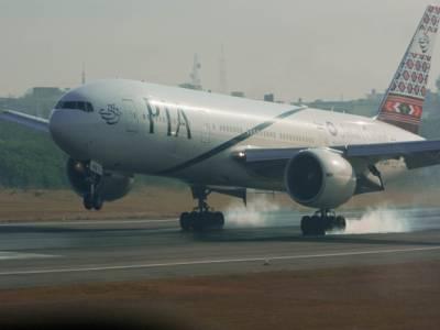 سیالکوٹ سے جدہ جانیوالی پی آئی اے پرواز کی کراچی ایئرپورٹ پر ہنگامی لینڈنگ،بڑے حادثے سے بال بال بچ گئی