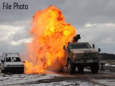 جنوبی وزیرستان، سیکیورٹی فورسز کی گاڑی کے قریب دھماکا، 2 اہلکار شہید
