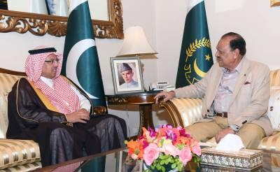 سعودی عرب میں مقیم2ملین سے زائد پاکستانی تحفظ حرمین الشریفین کے لئے تیار ہیں:صدر پاکستان