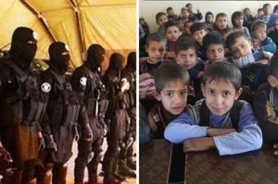 داعش کی جانب سےمغوی بچے انسانی ڈھال کے طور پر استعمال کئے جانے کا انکشاف