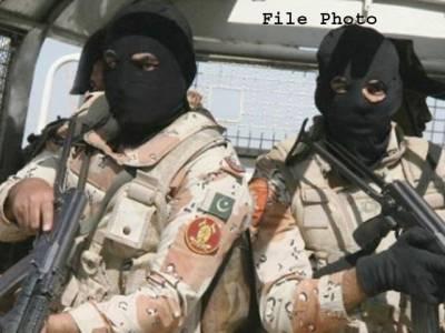 کراچی میں رینجرز کی کارروائی : ایم کیو ایم لندن کا زونل انچارج عابد غوری گرفتار