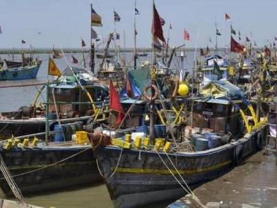 فیروز پور سیکٹر میں دریائے ستلج سے 2 پاکستانی کشتیاں پکڑ کر 400 من مچھلی ضبط کر لی، بی ایس ایف کا دعویٰ