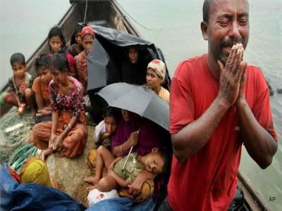 بھارتی حکومت نے ہزاروں روہنگیا مسلمانوں کو گرفتار کرکے ملک بدر کرنے کا فیصلہ کرلیا