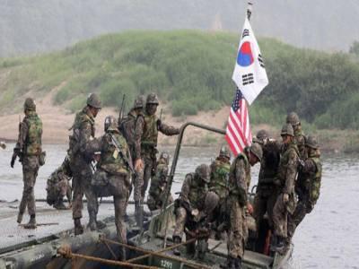 امریکہ،جاپان اور جنوبی کوریا نے مشترکہ فوجی مشقوں کا آغاز کردیا،800 سے زائد اہلکار شریک