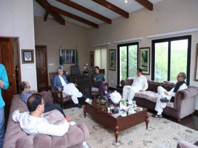 سابق وزیراعلیٰ سندھ لیاقت جتوئی نے پی ٹی آئی میں شمولیت کا فیصلہ کرلیا