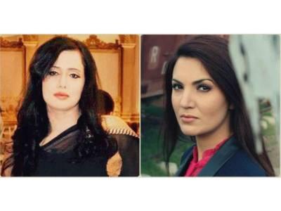 ریحام خان اور خاتون صحافی مہر تارڑ کے درمیان ٹویٹر پر لفظی جنگ چھڑ گئی