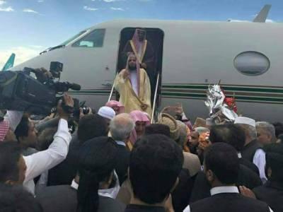 امام کعبہ الشیخ صالح بن محمد ابراہیم آل طالب اور سعودی وزیر مذہبی امور پشاور پہنچ گئے