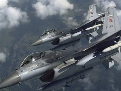 ترک جنگی طیاروں کی کرد شدت پسندوں کے خلاف کارروائی،16دہشت گرد ہلاک