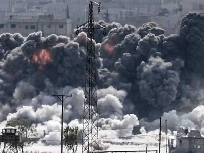 ڈونلڈ ٹرمپ کی وارننگ کے بعد امریکا کا شامی ایئر بیس پر میزائلوں سے حملہ ،لڑاکا طیارے اور ایئر بیس تباہ،9 افراد بھی مارے گئے