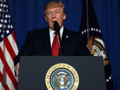 شامی صدر بشار الاسد کے رویے کو کئی بار تبدیل کرنے کی کوشش کی ، حملہ امریکی مفاد کے پیش نظر کیا : امریکی صدر ڈونلڈ ٹرمپ