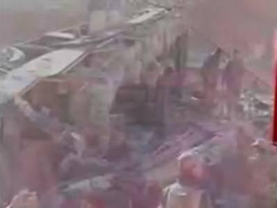 بلوچستان کے ضلع مستونگ میں کوچ الٹنے سے 7مسافر جاں بحق ،20زخمی
