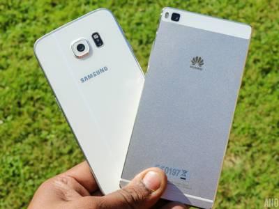 """""""ہواوے """"نے سمارٹ فون ٹیکنالوجی بغیر اجازت استعمال کرنے پر """"سام سنگ"""" کیخلاف مقدمہ جیت لیا"""