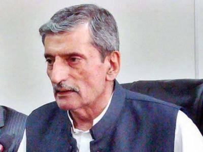 خیبر پی کے میں ساڑھے 3لاکھ شناختی کارڈ بلاک کرنے کے خلاف غلام احمد بلور نے تادم مرگ بھوک ہڑتال کردی