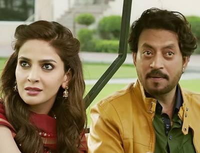 """پاکستانی اداکارہ صباءقمر کی بھارتی فلم""""انگلش میڈیم"""" کا ٹریلر جاری"""