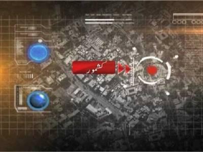 انڈ س ہائی وے پر پشاور سے کراچی جانے والی تیز رفتار مسافر کوچ الٹ گئی ، عورتوں اور بچوں سمیت 14افراد زخمی
