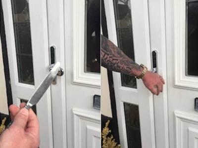 اگر آپ اپنے گھر کو تالالگاکرکے سمجھ رہے ہیں کہ اب چور داخل نہیں ہوسکے گا توآپ کا خیال غلط ہے کیونکہ۔۔۔ ایسا طریقہ کہ صرف 5سیکنڈ میں تالا ٹوٹ جائے گا