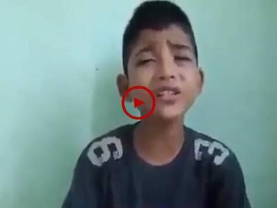 بچے کی خوبصورت آواز میں قرآن کی تلاوت سنئیے۔ ویڈیو: سعد عباسی۔ لاہور