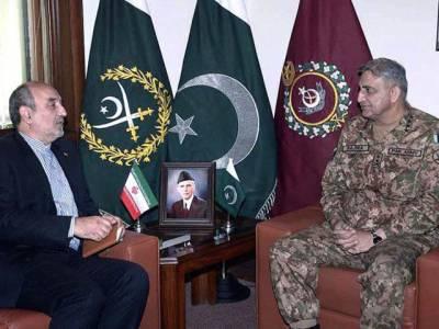 پاکستان کی سعودی اتحاد میں شمولیت ، ایرانی سفیر اہم ترین پیغام لیکر آرمی چیف کے پاس پہنچ گئے