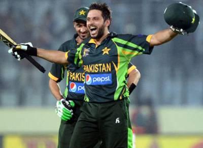 شاہد خان آفریدی پاکستانی ٹیم کی طرف سے پھر میچ کھلیں گے۔۔۔؟ بوم بوم آفریدی سے متعلق بڑی خبر آ گئی