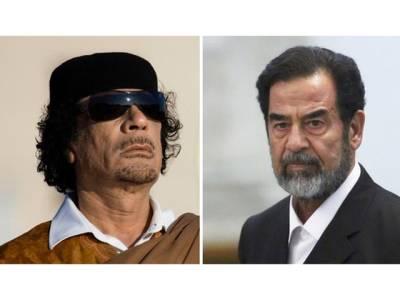 قذافی نے صدام کو سمگل کرنے کی کوشش کی تھی: عراقی جج