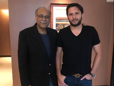 شاہد آفریدی سے ملاقات مثبت رہی، فیئر ویل سے متعلق معاملات طے کر لیے : نجم سیٹھی