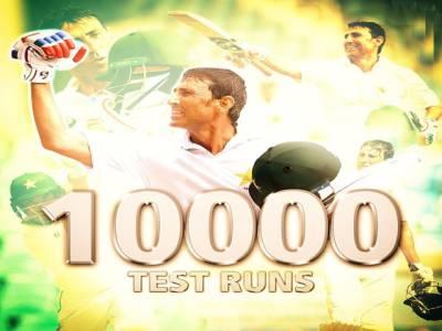 گورنر سندھ محمد زبیر کی یونس خان کو ٹیسٹ کرکٹ میں دس ہزار رنزبنانے پر مبارکباد
