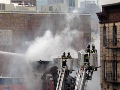 نیو یارک کے رہائشی عمارت میں آگ لگنے سے 5 افراد ہلاک،2فائر فائٹر زخمی