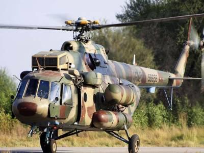 کرم ایجنسی وین دھماکے کے زخمیوں کو پشاور ہسپتال منتقل کرنے کیلئے آرمی کا خصوصی ہیلی کاپٹر پارا چنار پہنچ گیا