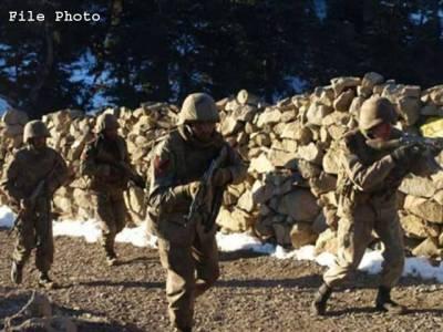 کرم ایجنسی میں سیکیورٹی فورسز اور دہشتگردوں میں جھڑپ ، 1جوان شہید ،2زخمی
