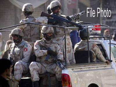سیکیورٹی فورسز کی ڈیرہ مراد جمالی میں کارروائی ، زیر زمین چھپایاگیا اسلحہ،دھماکا خیز مواد برآمد