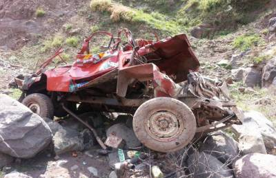 فاروڈ کہوٹہ میں جیپ کا المناک حادثہ، ایک ہی خاندان کی7خواتین اور ڈرائیور جاں بحق