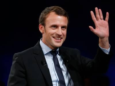 فرانس میں نسل پرست خاتون صدارتی امیدوار میرین لی پین کو بدترین شکت ،ایمانوئل مکرون کم عمر ترین صدر منتخب