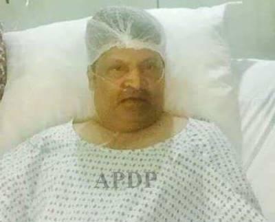 سینئر کامیڈین عمر شریف کی طبیعت ناساز، ہسپتال داخل