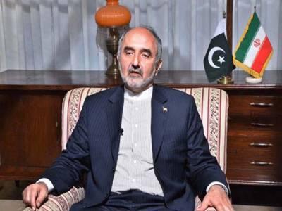 ایران اور پاکستان کے درمیان منفرد تعلق ہے ،آرمی چیف کا بیان دہشتگردو ںاور دہشتگردی کیخلاف تھا :ایرانی سفیر