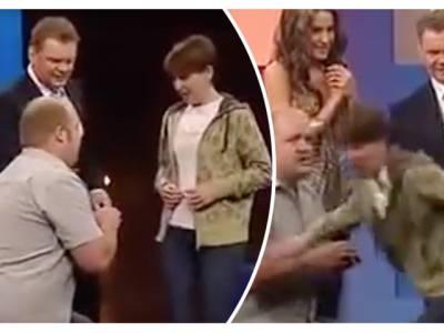 ٹی وی پروگرام کے دوران نوجوان نے اپنی محبوبہ کو شادی کی پیشکش کردی، لیکن پھر جو ہوا وہ کسی نے بھی تصور نہ کیا تھا