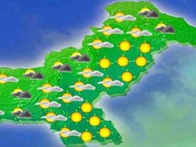 اگلے ہفتے کے دوران ملک کے بالائی علاقوں میں بارشوں کا امکان ہے: محکمہ موسمیات کی پیش گوئی