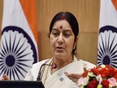 کشمیر کا مسئلہ پاک بھارت مل کر حل کریں گے، آستانہ میں نواز ،مودی ملاقات کے کوئی امکانات نہیں: سشما سوراج