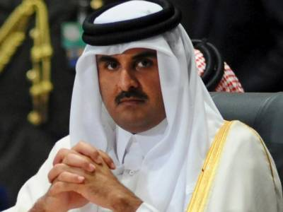 ایرانی محافظ امیر قطر کے محل کی حفاظت کرتے ہیں: رپورٹ