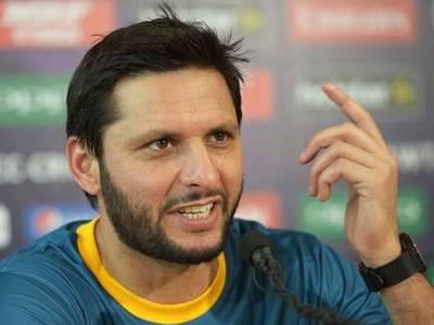 جنوبی افریقہ سے فتح کی بدولت پاکستانی ٹیم ٹورنامنٹ میں کچھ انوکھا کرسکتی ہے:شاہد آفریدی
