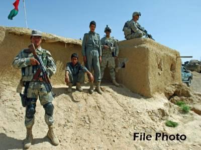 امریکی فوج کی طرف سے فرینڈلی فائر کے واقعے میں 3افغان بارڈر پولیس اہلکار ہلاک ،2زخمی
