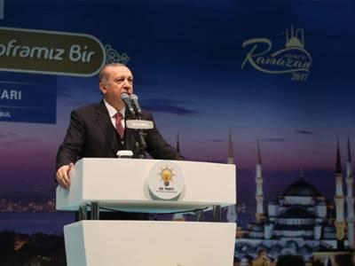 خلیجی ممالک کے تنازعے سے رمضان کی برکتیں ماند پڑ گئیں، بھائیوں کی لڑائی میں فاتح کوئی نہیں ہوتا: رجب طیب اردگان