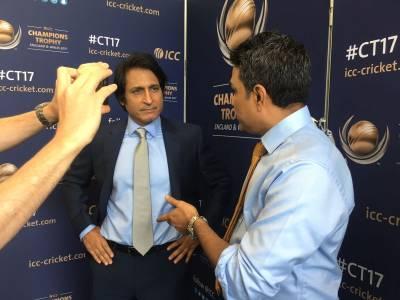 پاکستان سری لنکا کیخلاف کتنا ہدف حاصل کر سکتا ہے۔۔۔؟ آج کے میچ میں کمنٹری کے دوران پوچھے گئے سوال پر رمیز راجہ نے حیرت انگیز جواب دیدیا