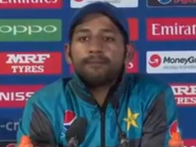 سری لنکا کے خلاف فتح کسی کے بھی نام نہیں کروں گا، کپتان سرفراز کا دو ٹوک اعلان