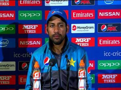 ٹاس جیت کر فیلڈنگ کا فیصلہ اس لئے کیا تاکہ۔۔۔۔ تاریخی فتح کے بعد کپتان سرفراز احمد نے اپنے فیصلے کی اصل وجہ بیان کردی