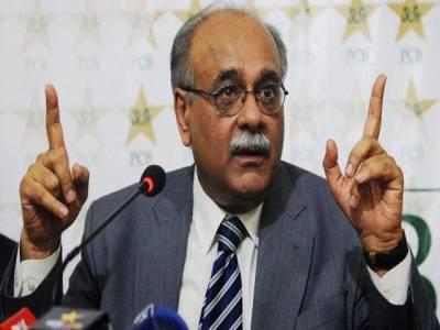 پاکستان کے ساتھ باہمی سیریز سے انکار کرنے والی دونوں ٹیمیں ہمارے ساتھ کھیلنے کیلئے آپس میں لڑ رہی ہیں: نجم سیٹھی